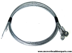 8' garage door cables for garage door w/ torsion spring system