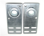 garage door flat end bearing plates 4 3/8""