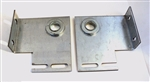 Commercial garage door end bearing plates 4 3/8""