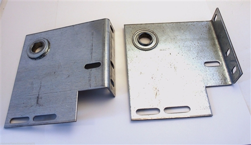 Heavy Duty Commercial Garage Door End Bearing Plates 6 Offset