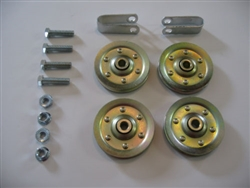Pulley Set for Garage Door with Hardware