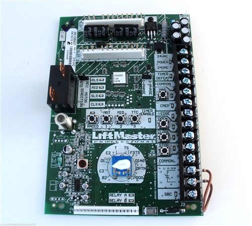 k001a6837 liftmaster commercial garage door opener l5 logic control board