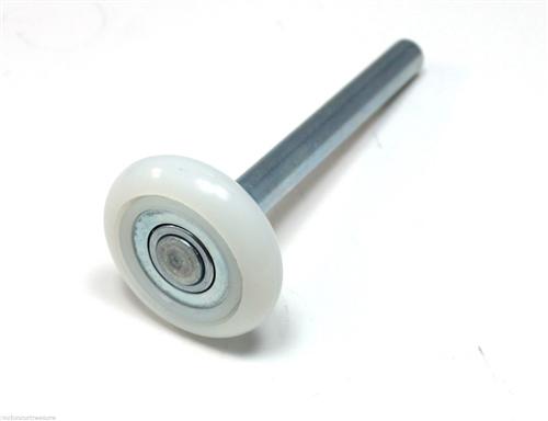 2 Garage Door Roller Nylon Roller Short Stem 13 Ball Bearing