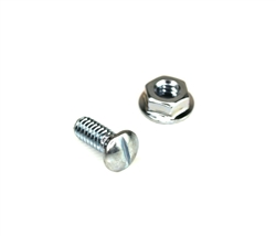 "Garage Door 1/4"" x 5/8"" Track Bolt with 1/4"" Flanged Nut - Select Quantity"