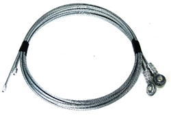 todco style roll up truck door cables