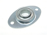 "box truck door football bearing plate with 1"" bearing"
