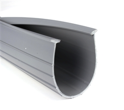 "4"" Garage Door Bottom Weatherstrip (1/4"" 'T' Style)"
