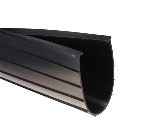 Heavy Duty 6 Garage Door Bottom Rubber Weatherstrip 516 T