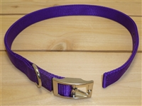 "1"" x 28"" Double Ply Collar w/ Buckle on End"