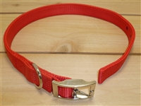 "1"" x 30"" Double Ply Collar w/ Buckle on End"