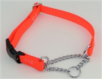 "5/8"" Adj. (to 15"") Nylon/Chain w/ Buckle"