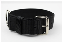"1 3/4"" x 24"" Double Ply Collar - Black"