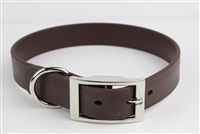 "1"" x 22"" Synthetic Leather Strap Collar"
