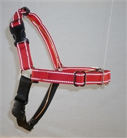 Reflective Extra Large Front Clip Body Harness