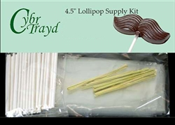 "4.5"" Lollipop Supply Kit - Available in Various Colors"