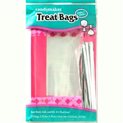 Pink Cello Treat Bag Kit