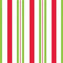 "100 Cellophane Bags 4"" x 2.75"" x 9.5"" Candy Apple Stripes"