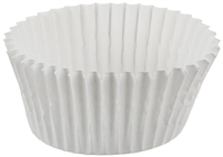 size 601 white candy cups