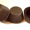 size 4 brown candy cups