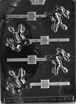 Donkey Lolly Chocolate Candy Mold