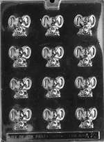 Tiny Mice Chocolate Candy Mold