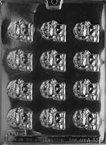 Bite Size Puppies Chocolate Candy Mold