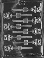 Small Teddy Lolly Chocolate Candy Mold