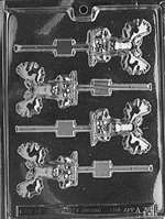 Moose Lolly Chocolate Candy Mold