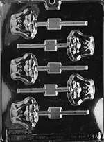 Hound Puppy Lolly Chocolate Candy Mold