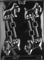Scotty Dog Lolly Chocolate Candy Mold