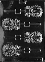 Lion Lolly Chocolate Candy Mold
