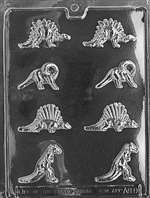 Bite Size Dinosaurs Chocolate Candy Mold