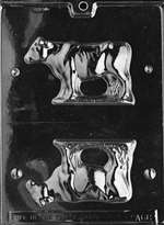 3D Cow Chocolate Candy Mold