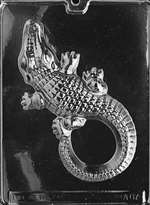 Large Alligator Chocolate Candy Mold