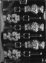 Mama And Papa Bear Lollies Chocolate Candy Mold
