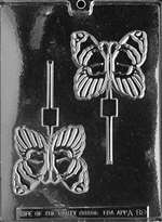 Butterfly Lolly Chocolate Candy Mold