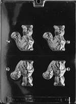3D Squirrel Chocolate Candy Mold