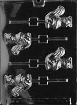 Squirrel Lolly Chocolate Candy Mold