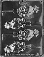 Jolly Dinosaur Lolly Chocolate Candy Mold