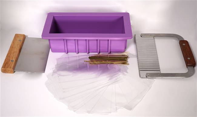 Soap Mold, Slice and Pack Kit