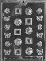Fancy Assortment Chocolate Candy Mold