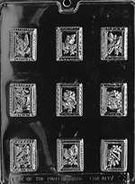 Stamps Chocolate Candy Mold