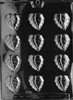 Fall Leaves Chocolate Candy Mold