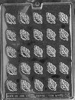 Spearmint Leaves Chocolate Candy Mold