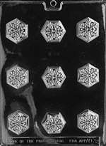 Snowflake Chocolate Candy Mold