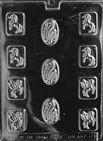 Mythological Mints Chocolate Candy Mold