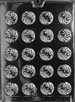 Swirl Mints Chocolate Candy Mold