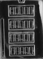 Bar Chocolate Candy Mold