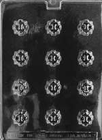 Filled Pieces Chocolate Candy Mold