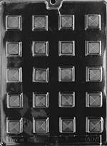 Traditional Square Chocolate Candy Mold